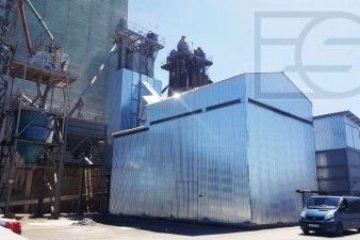 ES запустил новую твердотопливную котельную для зерносушилки ДСП-50
