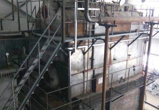 Паровая котельная на лузге 6,5 тн пара/час