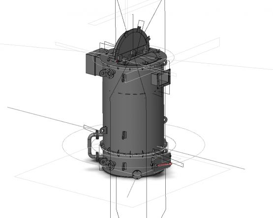 Котел водогрейный ТгТ-КУ-0,15 (0,15 МВт)