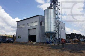 Твердо-топливная котельная 4 МВт для биогазового комплекса МХП уже в пуско-наладке.