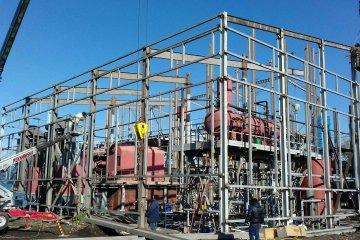 Паровая котельная на лузге «ЭНЕРГО-СПЕКТР» 35 тонны пара в час