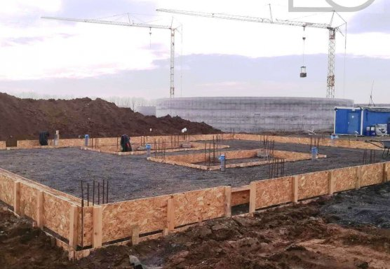 Пеллетная котельная 4 МВт биогазового комплекса МХП
