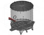 Топливный бункер с системой «живое дно»