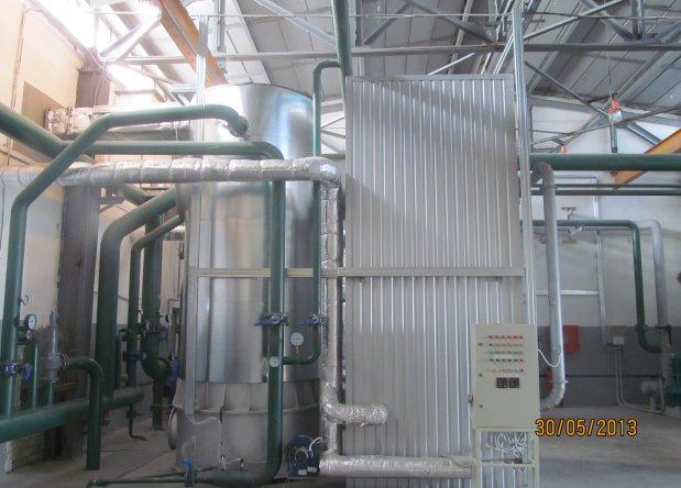 Водогрейная котельная 12 МВт, Харьков